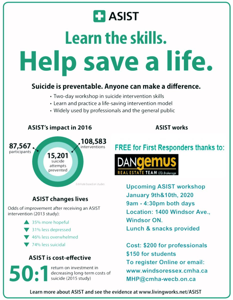 test Twitter Media - Our new 2020 Training schedule for all @Living_Works trainings are now up on website! Click to register for our upcoming #asist  training. https://t.co/VMcItJ6ETn #SuicidePrevention https://t.co/BI5sgIgBGS