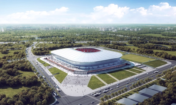 "Titan Sports Plus on Twitter: ""As the first football-specific stadium  designated for a club (for Shanghai SIPG), Shanghai Pudong stadium will be  completed by the end of 2020, according to recent updates."