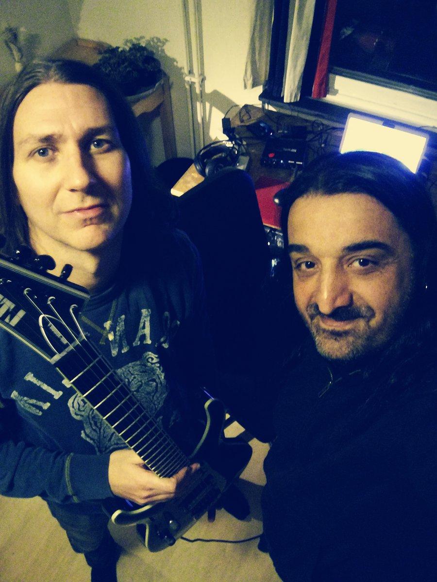 New album in the works!!!!  #despotzrecords #metal #metalhead #espguitars #ltdguitars #ltd #elixirstrings #seymourduncanpickups #orangeamps #amtelectronics #godlyke #maxonpedals #presonus #toontrack #nightrage #metalheadz #metalheads #headbanger #headbang