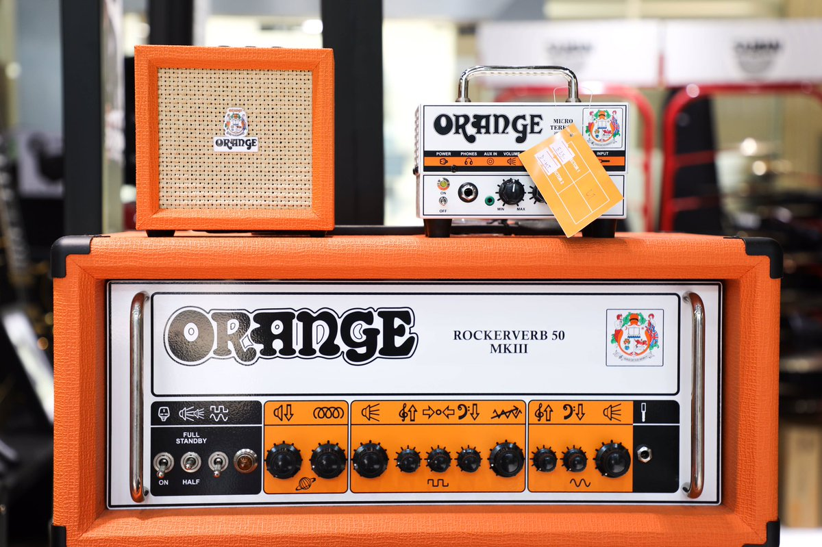 Have a bright and amplified long weekend!  @OrangeAmps  Shop Now at   #amplfiers #amp #orangeamps #guitarist #dubai #longweekend #whitefriday