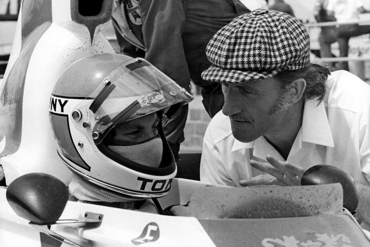 Good photo to remind everyone of a lost potential British World Champion. The prodigiously talented Tony Brise. Tragic loss. #f1 #OnThisDay