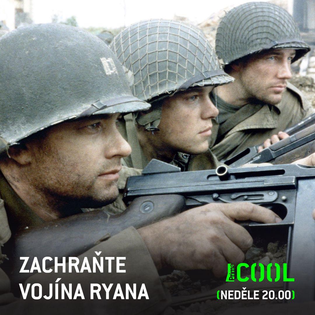 Kterou scénu z nejlepšího válečnýho filmu všech dob máte nejradši? :)   #PrimaCOOL #ZachranteVojinaRyana #StevenSpielberg #TomHanks #MattDamon https://t.co/raORNGHI46