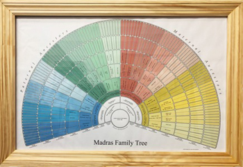Holiday gift giving is easy with StLGS! Get a colorful Fan Chart displaying your family history--7 generation and 9 generation charts are available. Details: https://t.co/Rzcpo7k8ex #fancharts #genealogy #holidaygift https://t.co/wvJ77Z6hhW
