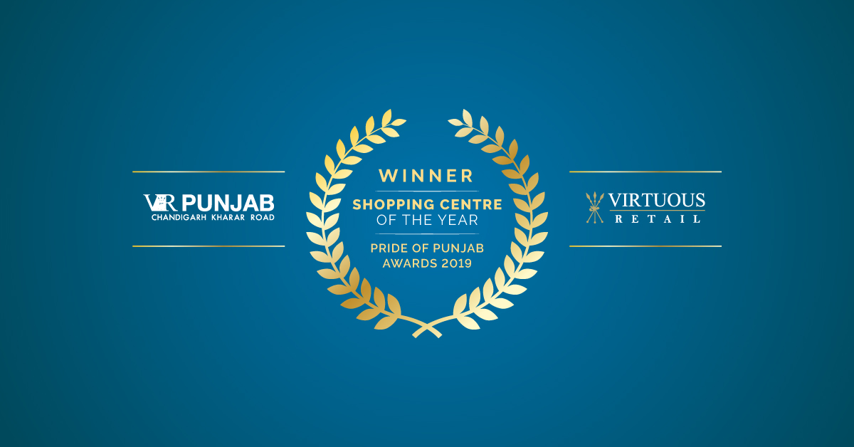 We are thrilled to announce that @vr_punjab has been recognised as the Shopping Centre of the Year at the Pride Of Punjab Awards 2019. A big thank you to all our patrons and partners who helped make this happen. #VirtuousRetail #VRPunjab #PrideOfPunjab #Award #WeAreVirtuousRetail https://t.co/vhQyoqwl2D