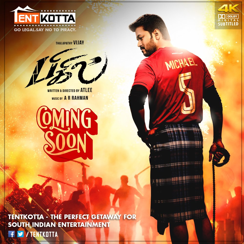 Coming Soon on #Tentkotta: Thalapathy Vijay's #Bigil and Dhanush's #Asuran. <br>http://pic.twitter.com/l2h2LRFjef