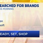 Fashion is front of mind for #BlackFriday2019, with @hm seeing a huge YOY boost in searches, followed by @Apple, @amazon & @Microsoft. Tune into @CNBC to hear more real-time insights from @Captify https://t.co/KG6mVxW5X8 @CourtReagan #BlackFriday