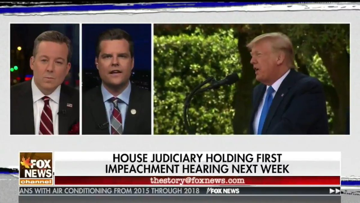 We would like to call minority witnesses, including possibly Hunter Biden and the whistleblower. We also want to hear from witnesses who can expound on the testimony of George Kent that reflect on the concerns with Burisma and the ingrained corruption with that company.