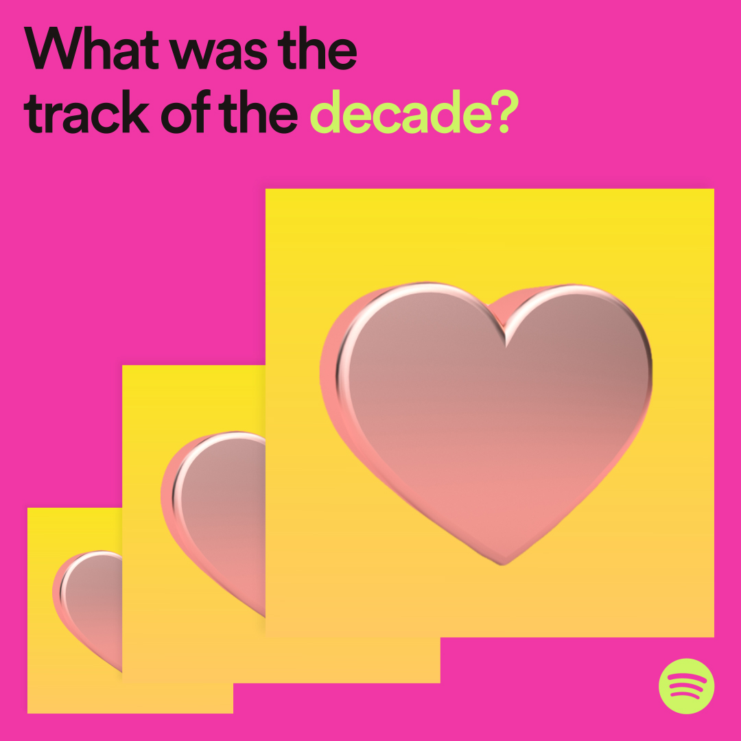 #SpotifyWrapped is coming 😮 Which track lit up your decade?