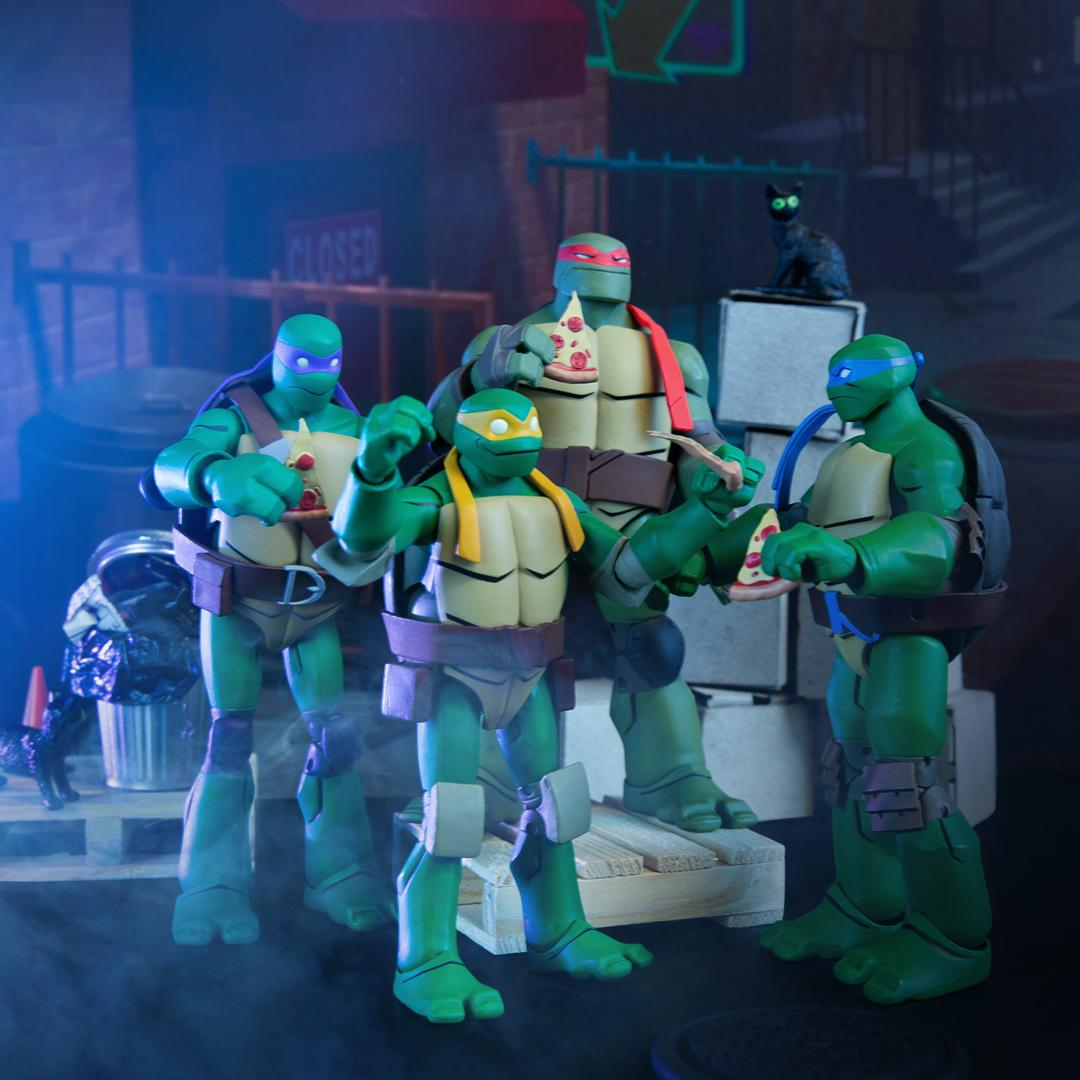 Tmnt On Twitter Worlds Collide With The Batman Vs Tmnt Figure Bundle Available For Preorder Now Only At Gamestop