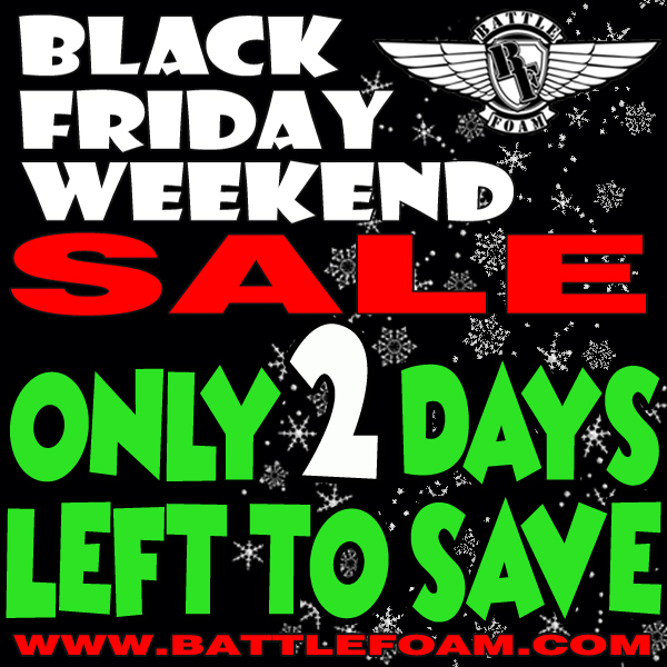 Battle Foam On Twitter The Battle Foam Black Friday Weekend Sale Has Only 2 Days Left Don T Miss The Savings Shop Now Https T Co Cu3mpn2hrv Battlefoam Blackfridayweekendsale Hugesavingsatbf Https T Co T0r1bqsfta Talk about shopping experiences, deal predictions and anything else not related to deals and flyers here. twitter
