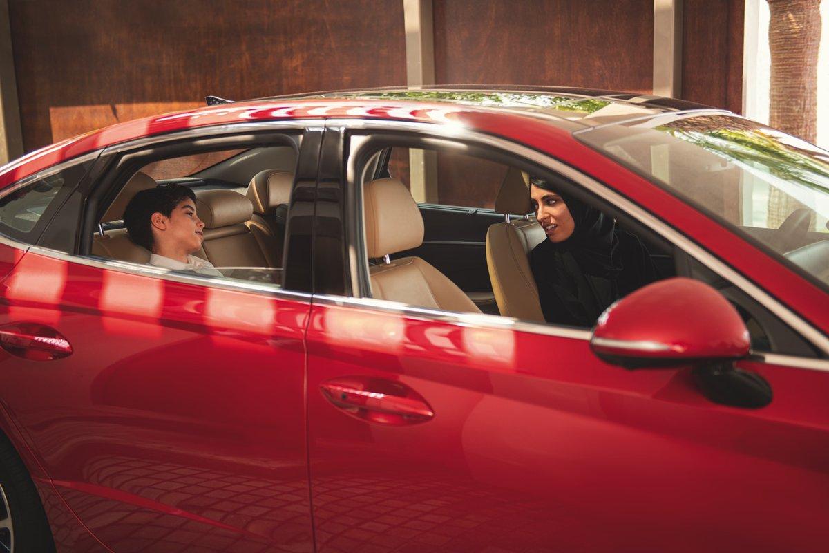 From school-runs to weekend getaways, taking the kids for a ride will always be an epic one.  #Hyundai #SaudiWomen #SaudiArabia #SaudiWomenDriving #WomenDrivers #WomanDriver #HyundaiSafeCarepic.twitter.com/qPdT6m2fsU