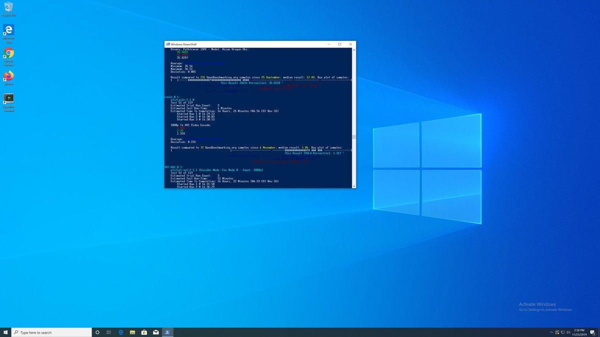 Phoronix On Twitter Windows10 Vs Linux Performance On The Amd Amdryzen Threadripper 3970x 80 Tests Ran Between Microsoft Windows 5 Linux Distros Ubuntu Clearlinux Opensuse Centos Fedora Https T Co J0g8d0wlea Https T Co Bbv2wlvayx