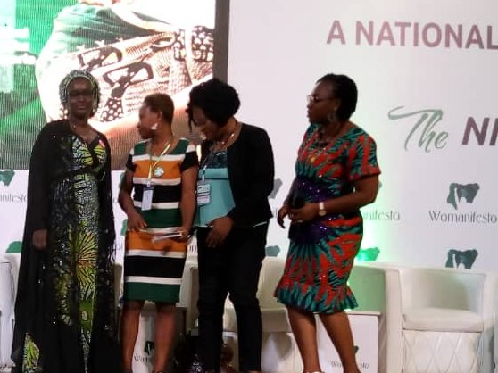 """Still on the matter #TheNigeriaWomenWant and @AllWomenWork, panelists on Violence Against Women and Girls technical session- decision is """"a national emergency be declared on VAWG in #Nigeria https://t.co/eKgn05hAnM"""