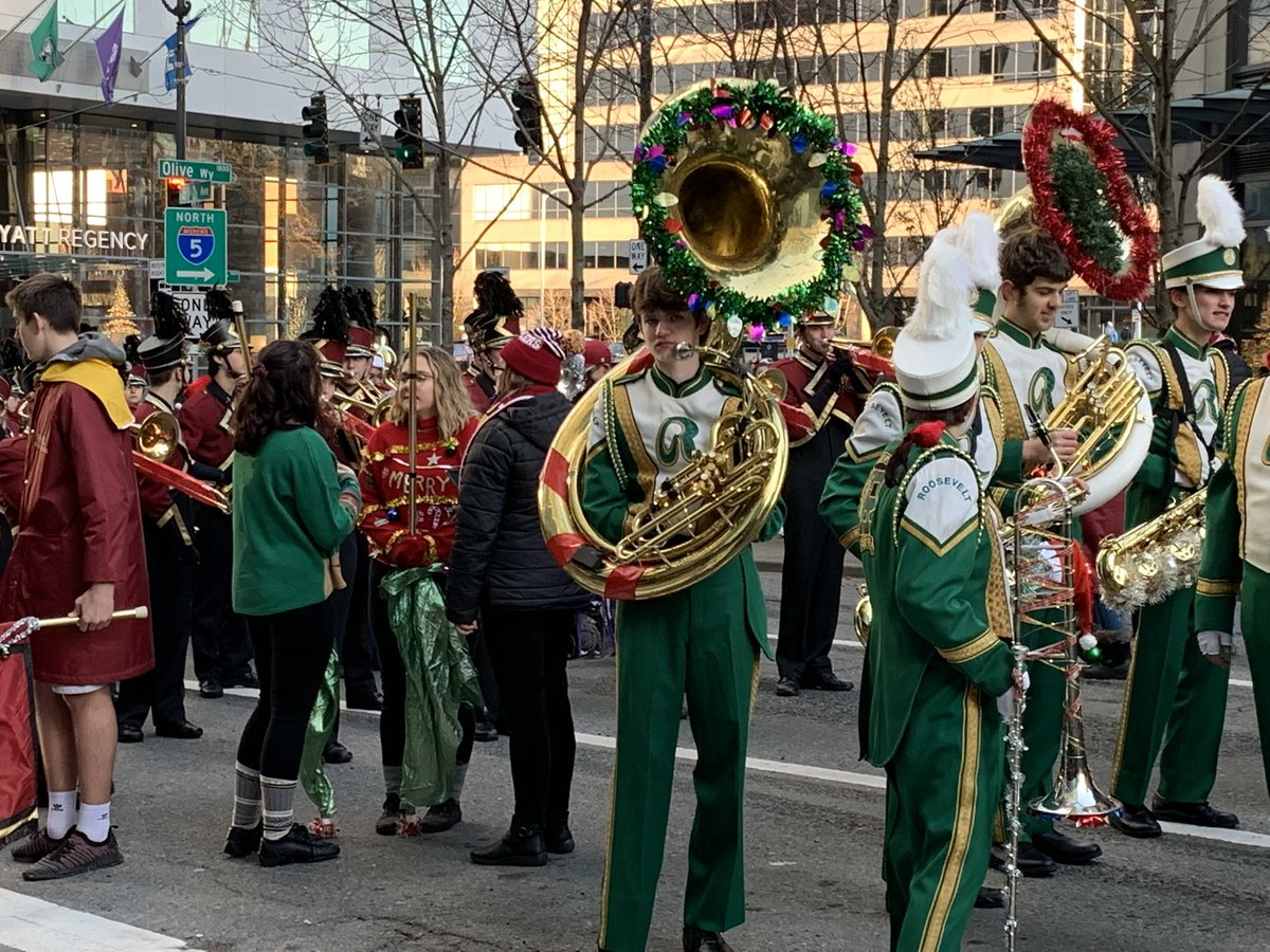 There should be a parade on my route to work every day. Or, at least a marching band playing Eye of the Tiger.