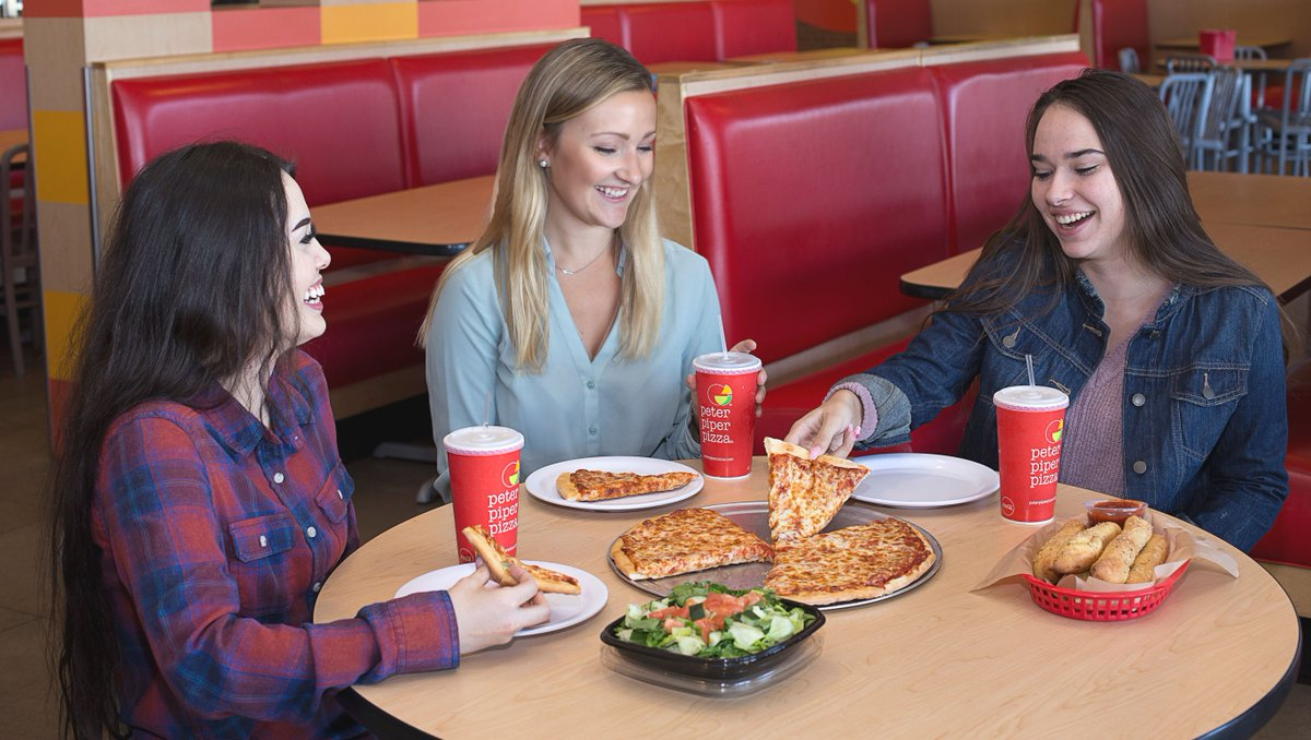 Drop the shopping bags and pick up a slice at our All-You-Can-Eat Lunch Buffet this Black Friday. Find your nearest Peter Piper Pizza at https://t.co/BeqFavT7yR 🛍🍕 https://t.co/9s3rC2mjnt