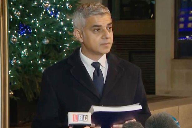 Mayor Sadiq Khan condemns cowardly and evil terrorism as Boris Johnson is briefed by Met chief on London Bridge shooting mirror.co.uk/news/politics/…