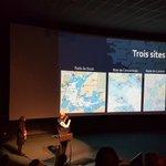 Image for the Tweet beginning: Les médiateurs scientifiques d'@oceanopolis introduisent