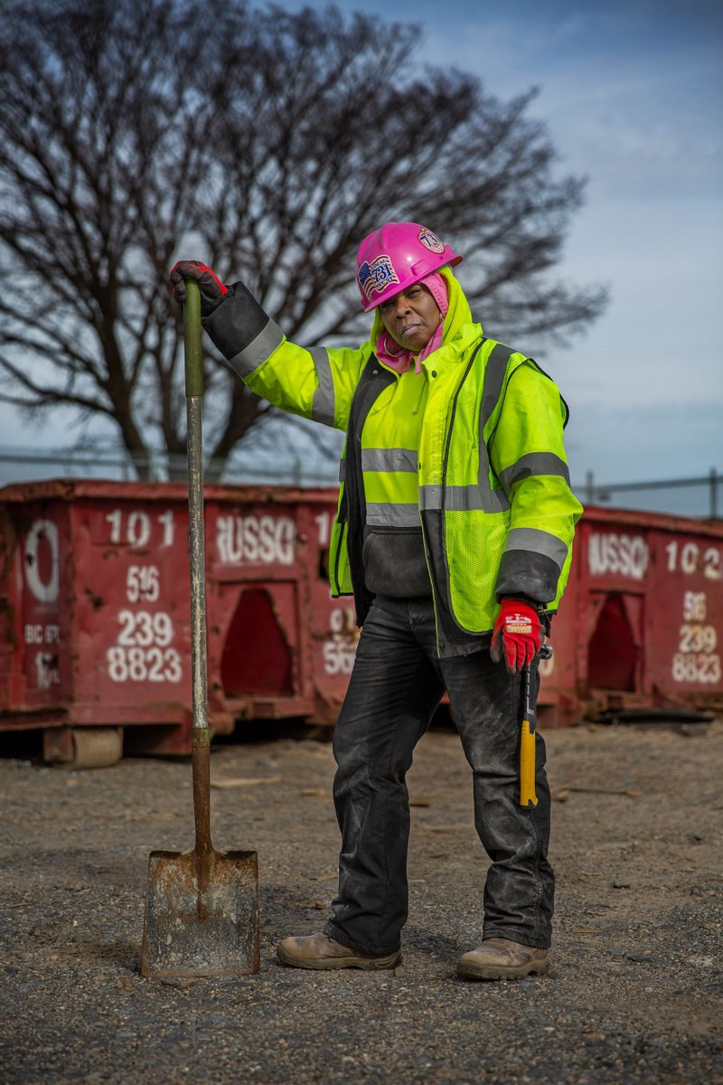Being the only woman on the job is a reality for many in NYCs construction sector. nbcnews.to/2qW6LKE