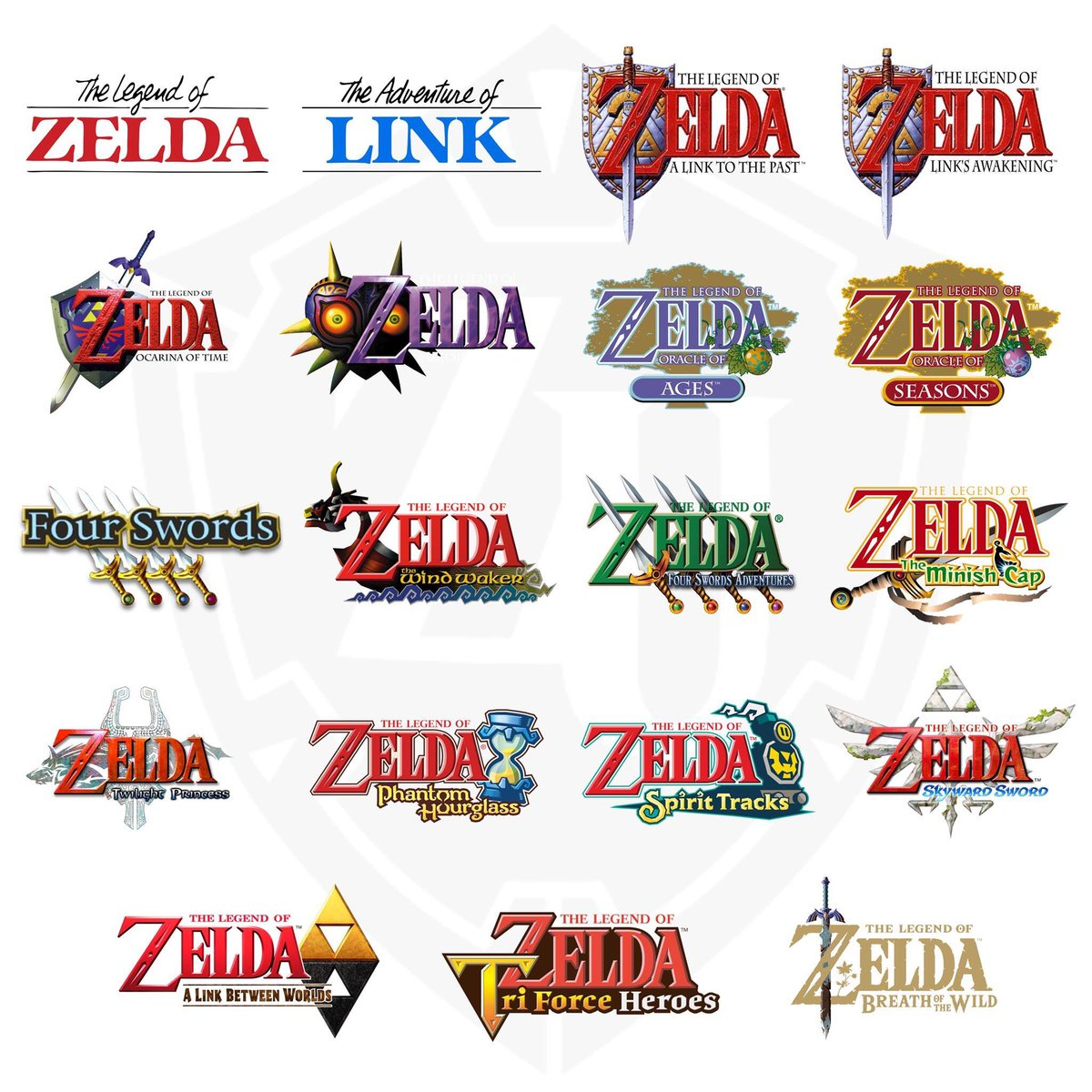 What are your Top 3 Legend of Zelda games?