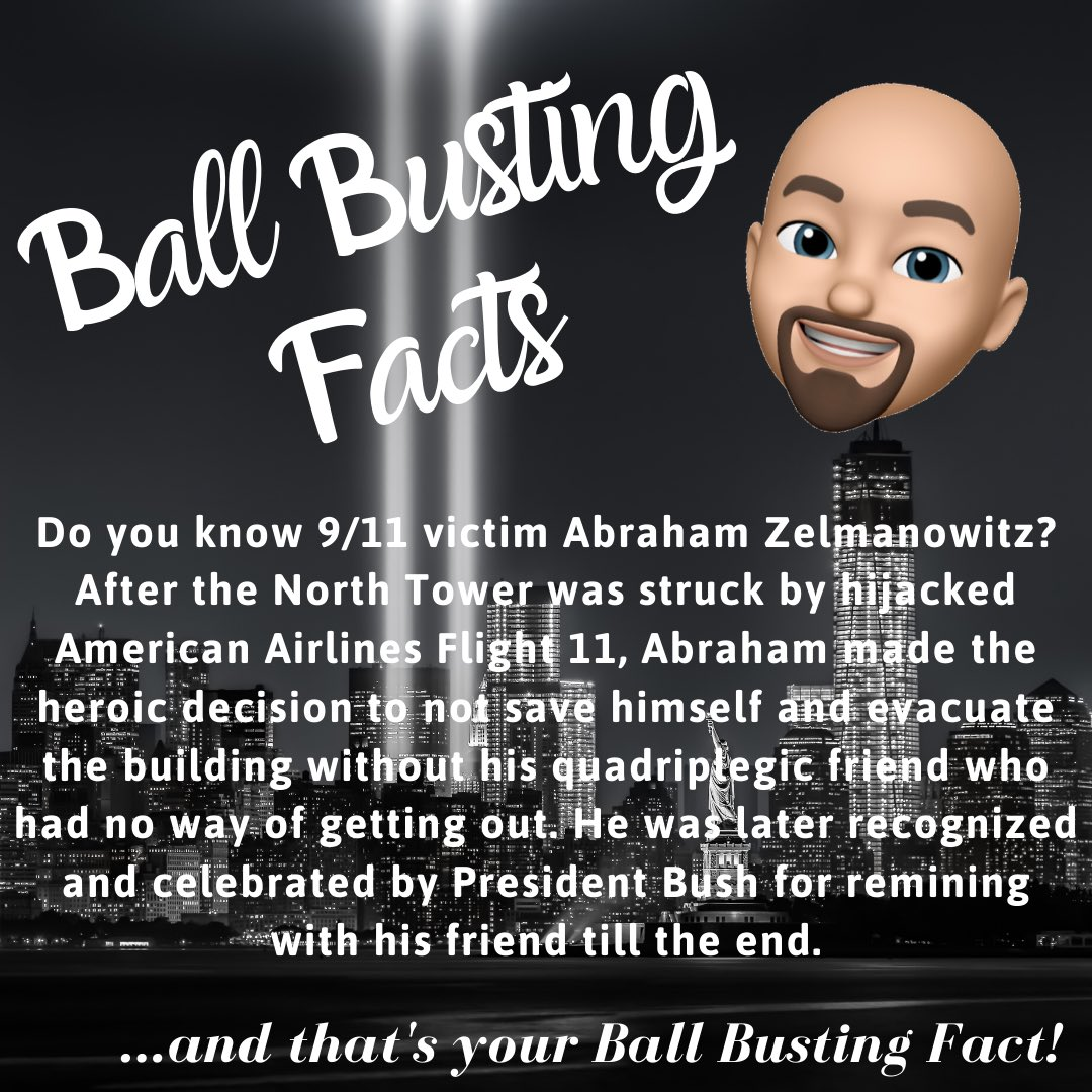 Give us your thoughts COMMENT BELOW and FOLLOW  US  👉🏻 @ballbustingfacts 👈🏻for your daily dose of amazing facts. #facts #fact #facts💯#wtc #wtcmemorial #wtc911 #911memorial #911anniversary #nyc #terrorist #terroristattack  #september11 #september112001 #neverforget🇺🇸