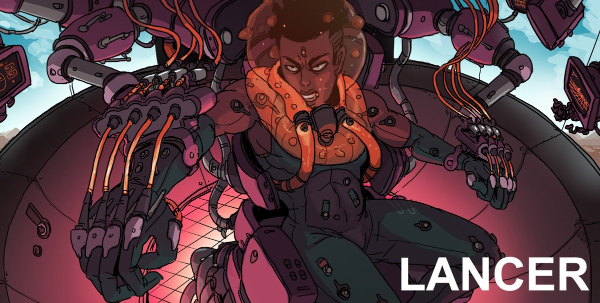LANCER is officially out! Check it out on our itch.io page: massif-press.itch.io for over 440 pages chock full of premium mech goodness and beautiful art. All the core rules, and mech rules, are completely FREE on the same page and always will be.