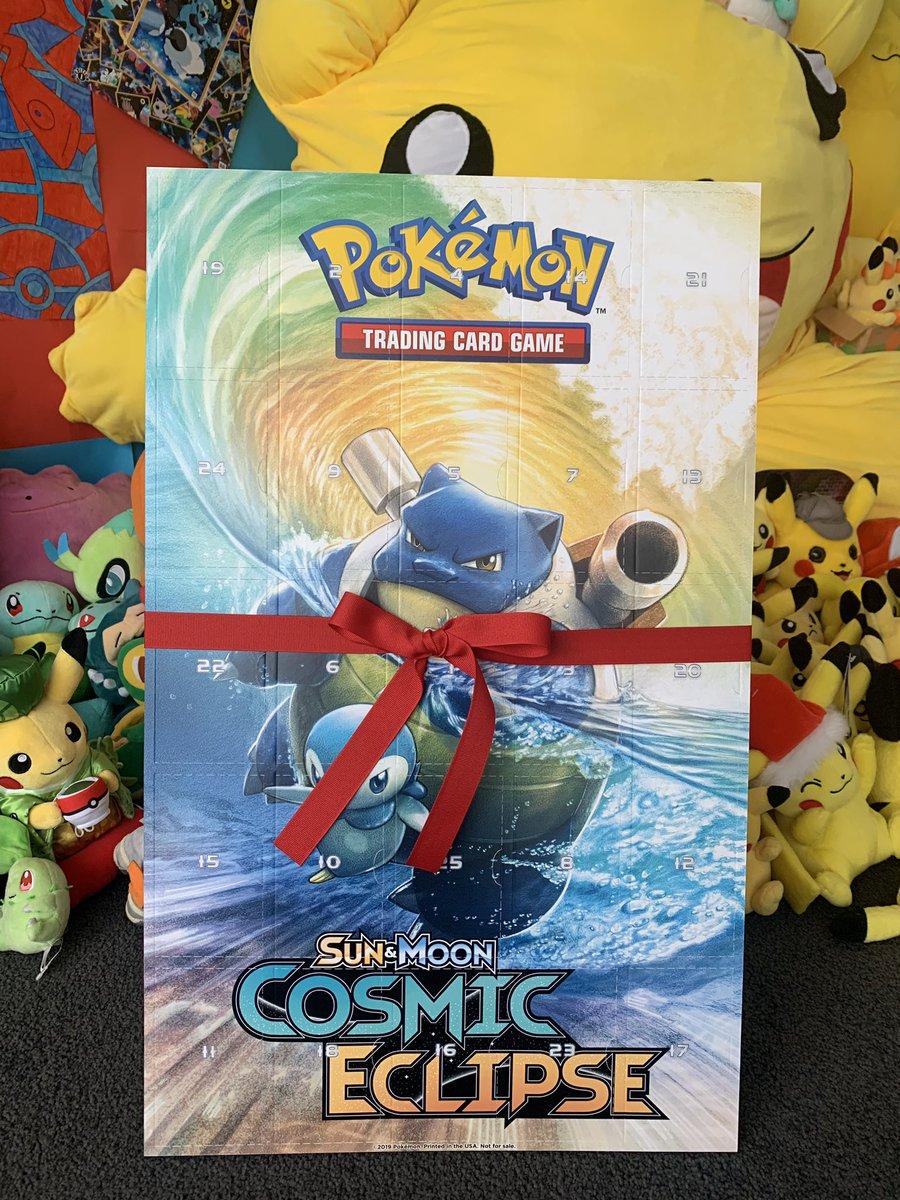 THANKYOU @Pokemon It's a Booster-Per-Day Advent Calendar 😍🔥