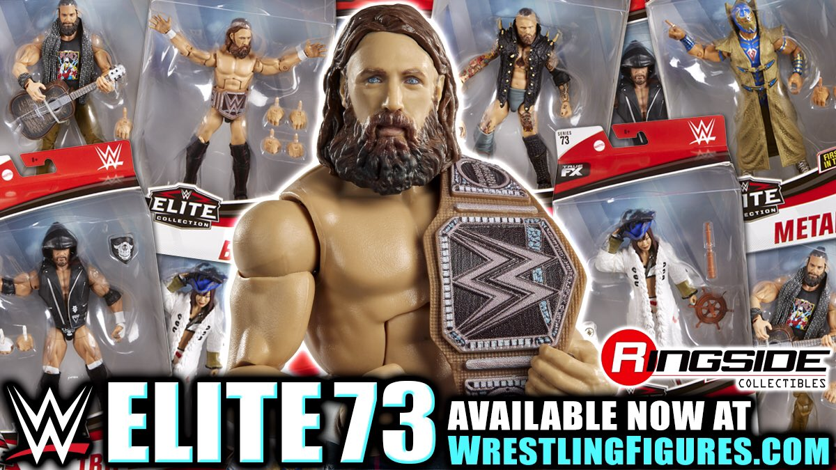 An action figure to believe in. The Daniel Bryan and eco-friendly @WWE Championship in Mattel WWE Elite Series 73 available @RingsideC.Now at: http://bit.ly/2rqC3t8