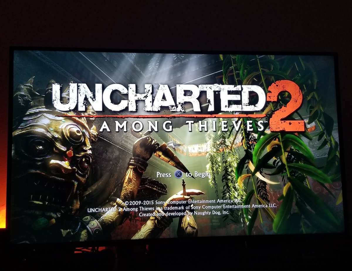 Uncharted 2 was a pretty alright game. It felt like a lot more of the first one but I enjoyed my time with it.  3/5 <br>http://pic.twitter.com/dIZUZiHFpz
