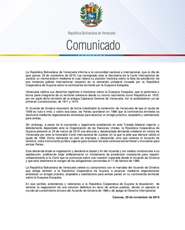 Esequibo - EL ESEQUIBO ES NUESTRO - Página 8 EKkjrXtW4AA_af8