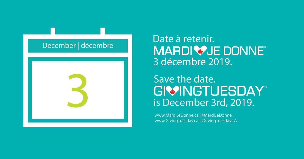 test Twitter Media - Mark your calendars! Dec 3 is #GivingTuesdayCA. Support #mentalhealth! @GivingTuesdayCa https://t.co/gKnJutWDRR