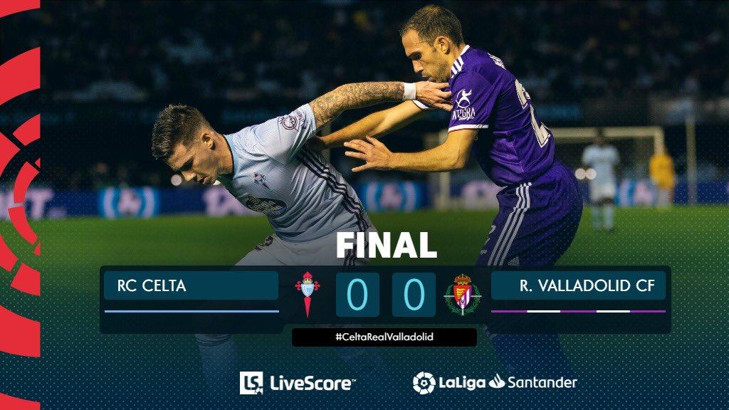 Liga : le Celta Vigo et Valladolid sans vainqueur