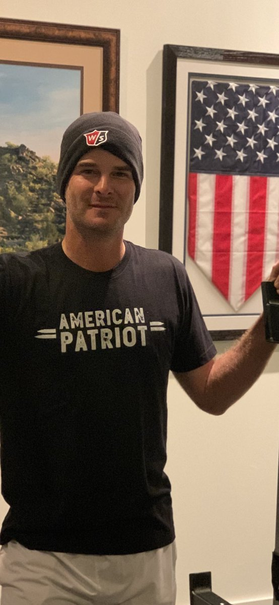 Proud of my buddy Noah for starting American Patriot Clothing Company  For every shirt sold, one is gifted back to Law Enforcement, Military, and First Responders.  Insta: American_patriotcc  #thankful #gratitude