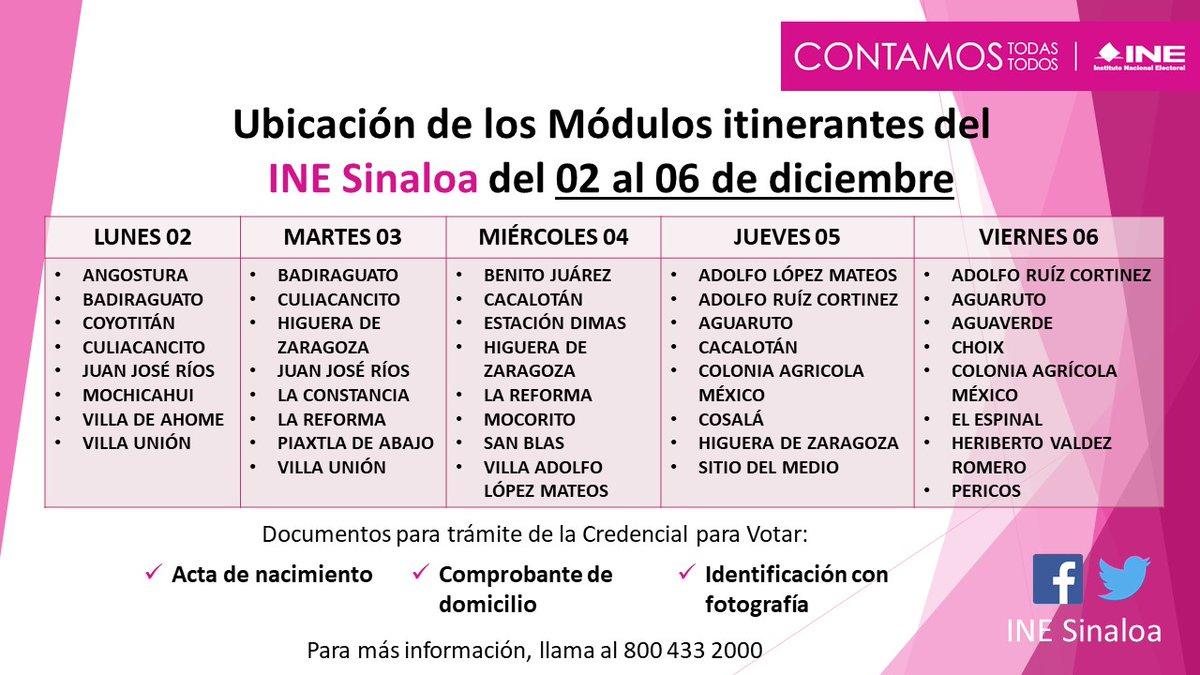 Ine Sinaloa Inesinaloa Twitter