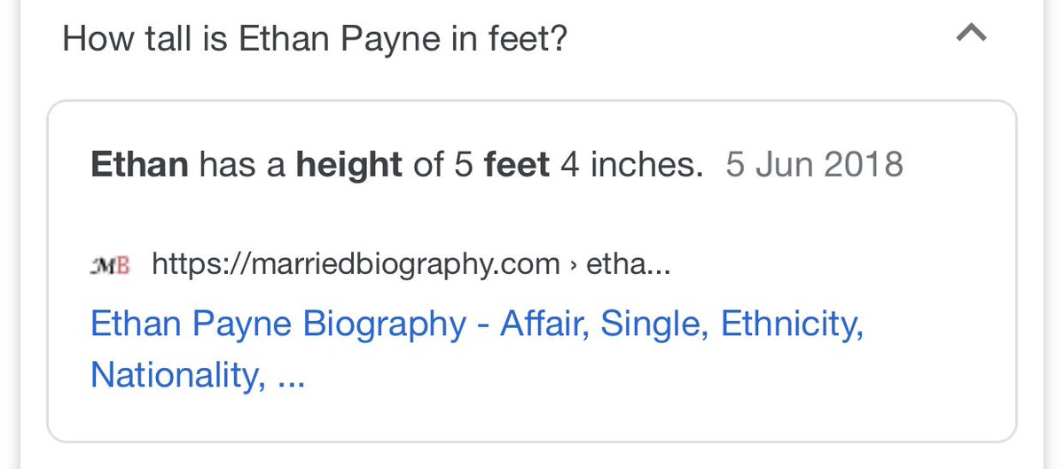 Jokes over, which one of you keeps telling the internet I'm 5'4?