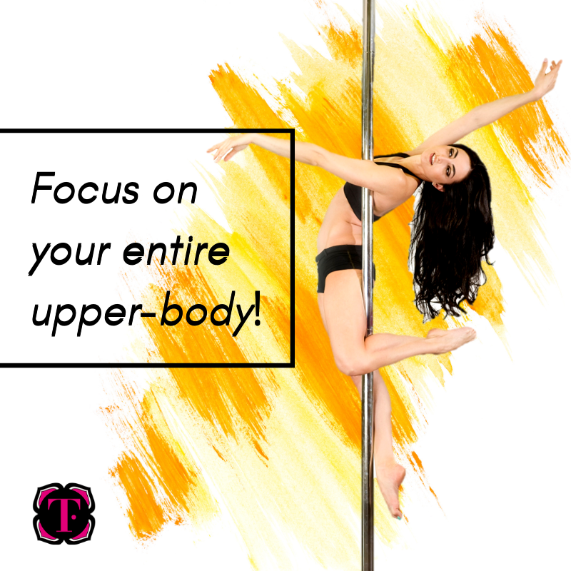 Gaining upper-body strength for pole dancing is not just about having strong arms. You need to look at the bigger picture. Your arms do need to be strong, so do your shoulders, your chest, your back, and your wrists. #polefitness #poleinspiration #tantratutorialspic.twitter.com/y80PwMqsIf
