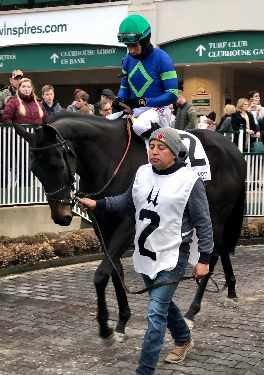 test Twitter Media - 2yo purchase Nay Lady Nay comes through with a big win for First Row Partners and @HiddenBrookKy in the G2 Mrs Revere @ChurchillDowns gutsy performance splitting horses late under @Juniorjockey for trainer Chad Brown. Congrats to all involved! https://t.co/ksW44ujz2o