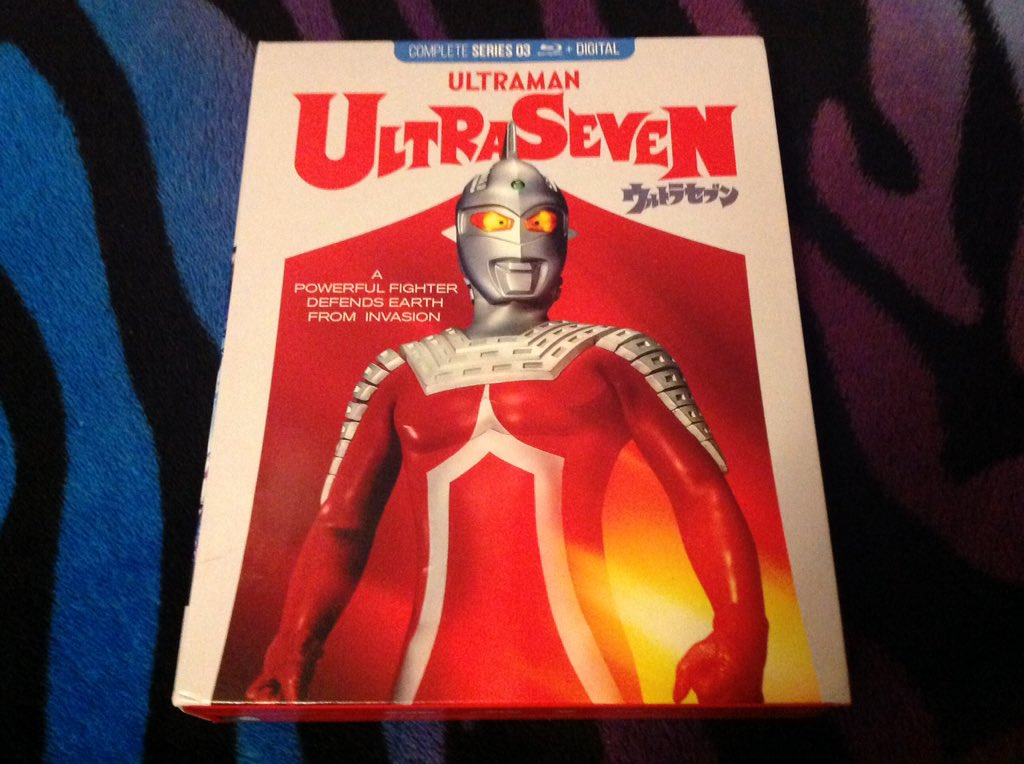 New @MillCreekEnt arrival, review up soon at   #ultraman #ultraseven #kaiju #monstermovies #monstermovie #scifi #tv #bluray #blurays #millcreekent