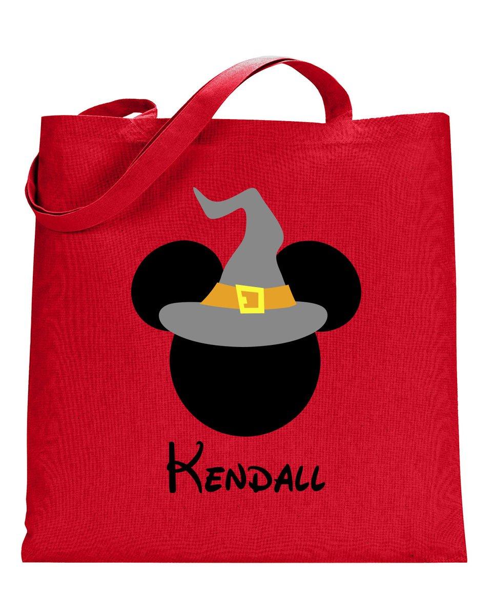 Pesonalized Halloween BagTrick or Treat Bag,Mickey tote bag,Halloween tote bag,Trick or treat tote,Halloween bag,Minnie Witch Bag,Mickey  #disneyears #toystoryears