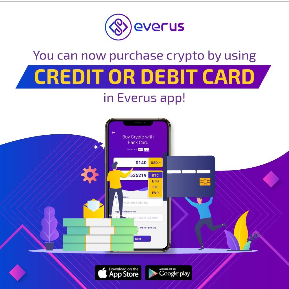 sell everus cryptocurrency