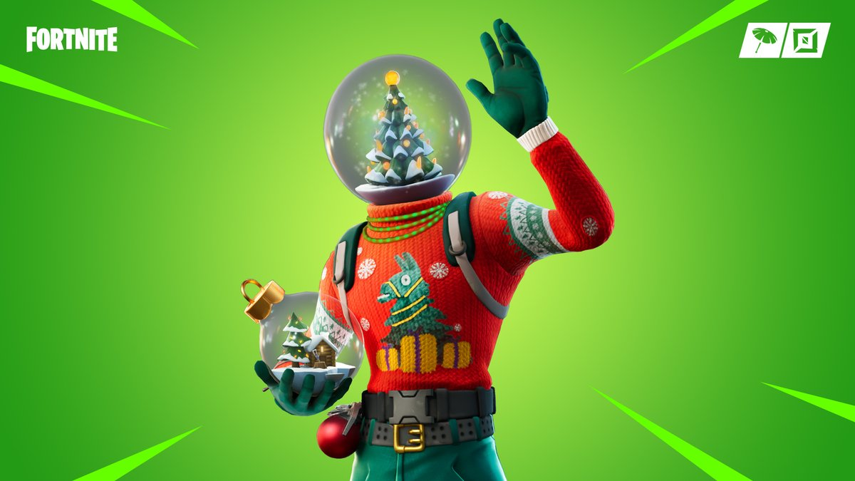 Make it snow ❄️ Grab the new Globe Shaker Outfit in the Item Shop now!