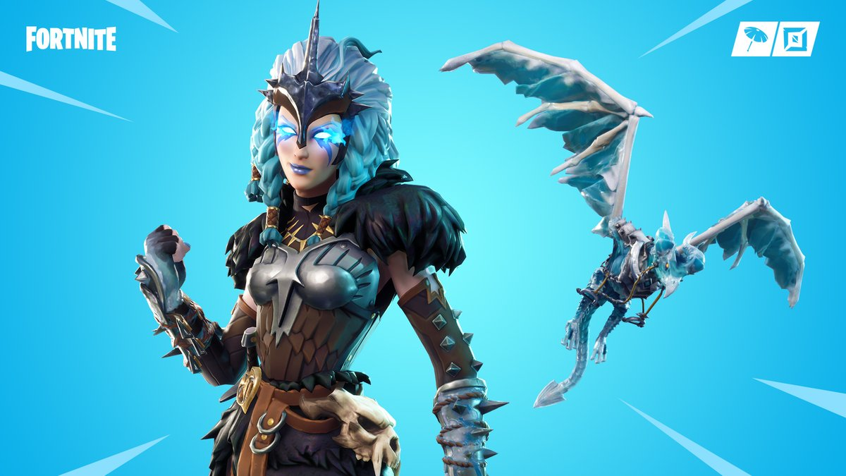 A chilling revelation. Get the Harbinger Bundle with a discount of up to 1,000 V-Bucks in the Item Shop now!