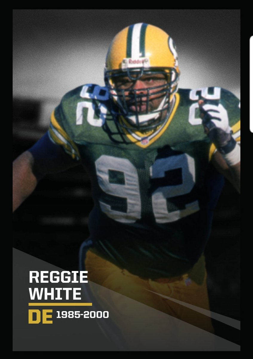 Congrats to all the defensive players to join @NFL top 100 - especially my great friend #ReggieWhite - Lining up against him 2 times a year was no joke. I know he is looking down on us and knows how much we miss him. @nflnetwork @packers
