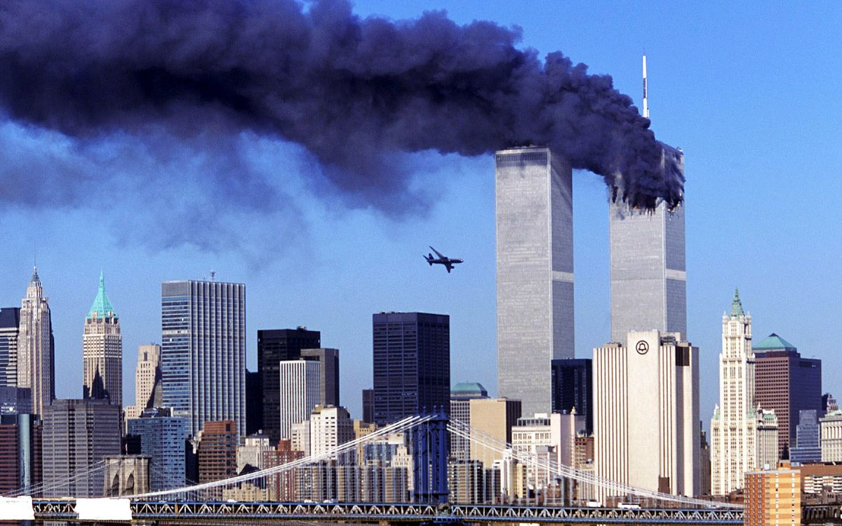 """Somewhere in all that 911 happened. Pretty sure I was getting laid when the first plane hit. We all got the same call:""""Turn on the tv.""""""""What channel?""""""""ANY. Channel.""""""""Oh.""""Turned on the tv in time for the second tower. Whole world knew Change was upon us, like it or not /22"""