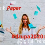 Image for the Tweet beginning: #DRUPA2020: THE RENEWAL OF PRINT