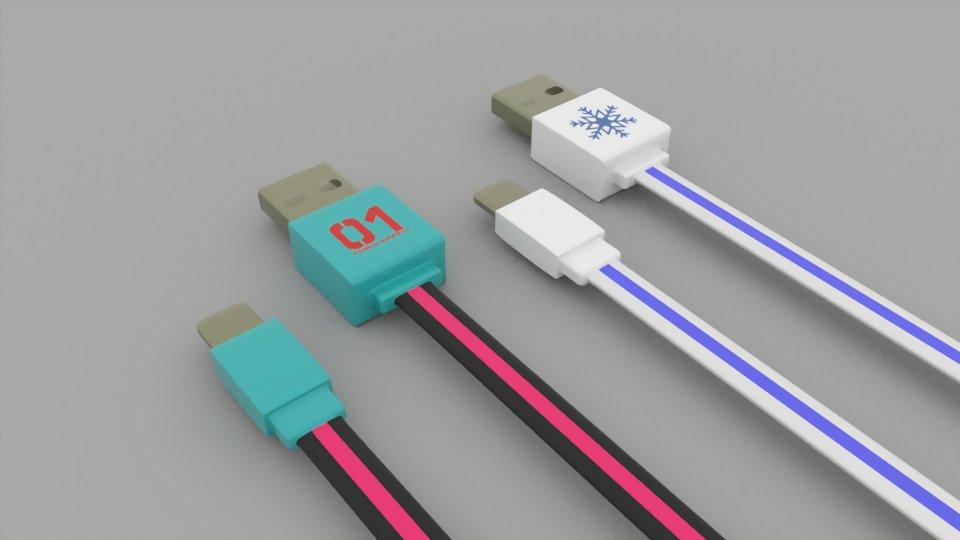 初音ミクや雪ミクをモチーフにした光る充電コード欲しいと思ってサッとモデリングしちゃいました💦これはLightningをもとにモデリングしましたが、microUSBやType-Cもあればなあと。でも開発大変そうなのかなどうなんだろう。。。#スカイタウン新商品開発ラボ