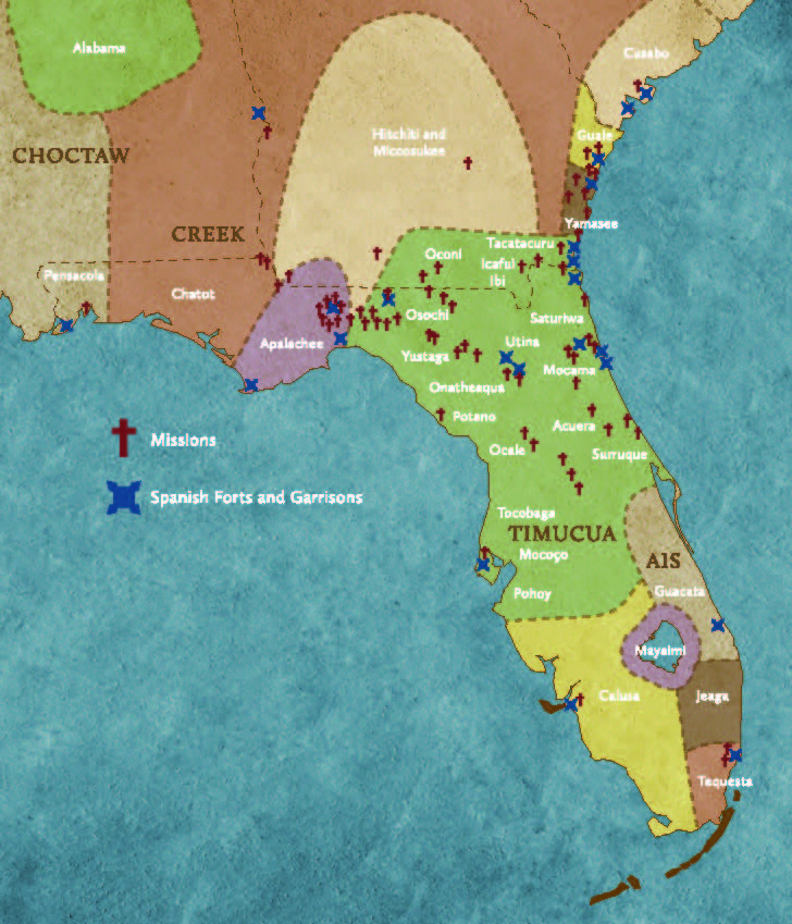 In 2013, we installed a map that showed different indigenous cultures living in Florida at the time of the arrival of the first Europeans. The population of indigenous people living in Florida at the time was thought to have been about 200,000. #NativeAmericanHeritageMonth <br>http://pic.twitter.com/brhunBNwep