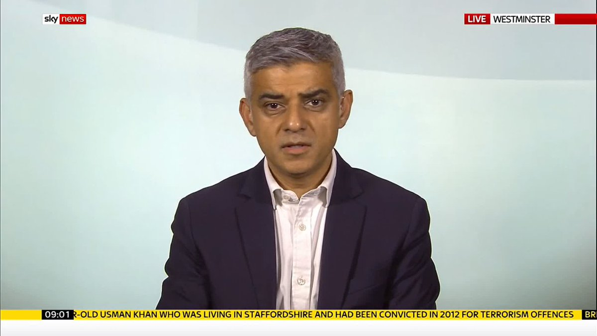 I dont think its right that someone convicted of a serious offence like terrorism should be automatically released says @SadiqKhan The London Bridge killer Usman Khan was convicted terrorist recently freed from jail. #Ridge For more on #LondonBridge: po.st/eg3Dtc