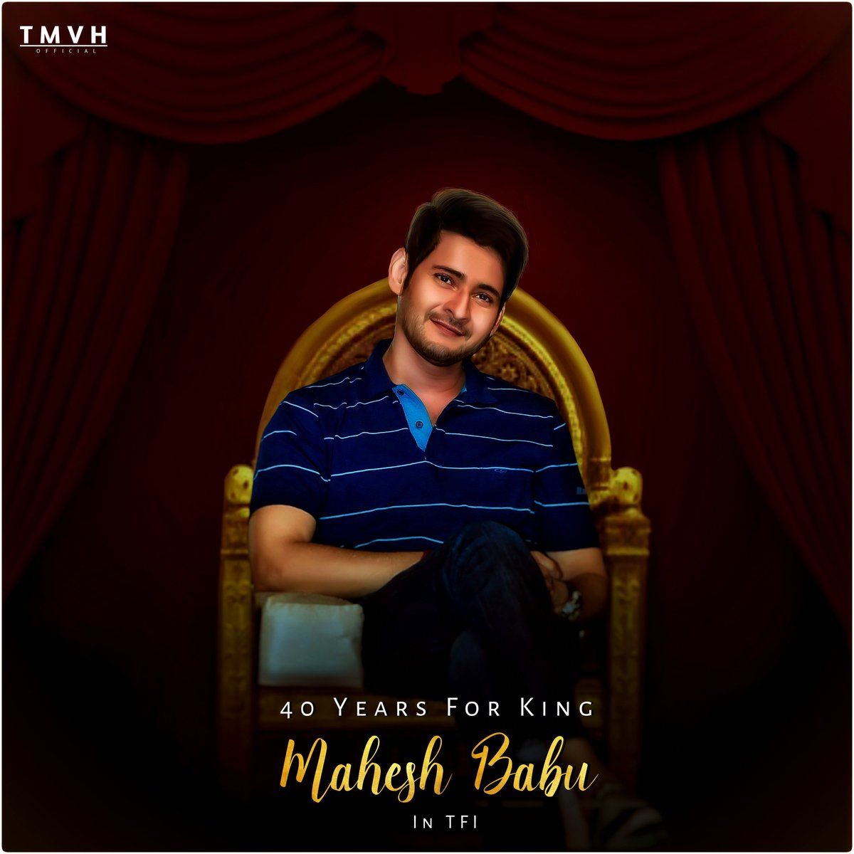 Wishing Superstar @urstrulyMahesh for 40 years in TFI.Started as a child artist in Needa to become one of biggest star Superstar has given us many memories,cult classics.Adopted 2  villages,Helped many children for operations.  #ssmbreignbeginssoon #MaheshBabu #SarileruNeekevaru<br>http://pic.twitter.com/lkSMbCdv5Z
