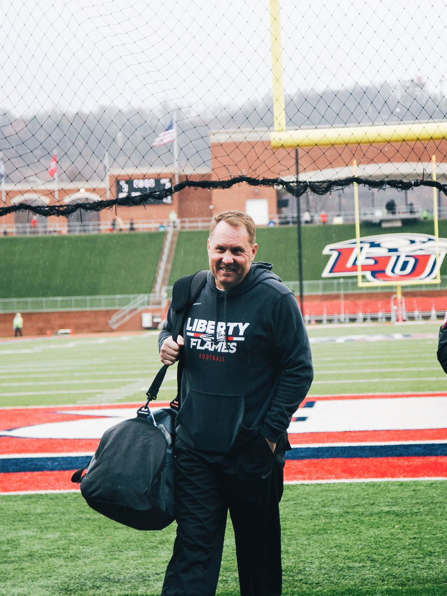 One last time in our house! Let's go @libertyfootball 🔥 #gameonlu