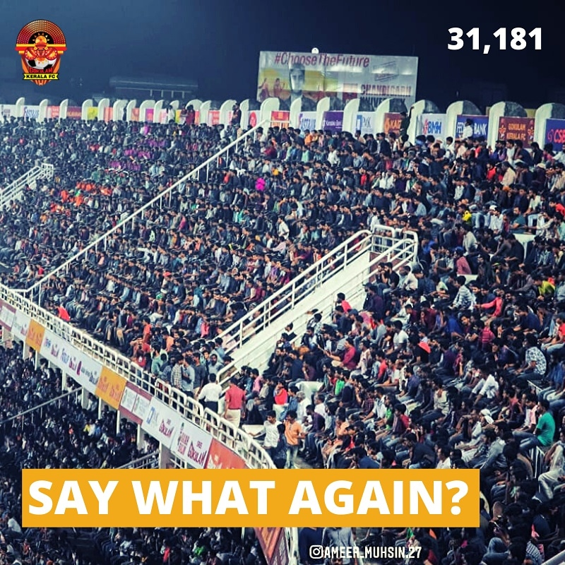 Thank you all for making HOME fantabulous 🔥🔥🔥  #GKFC #Malabarians ILeague